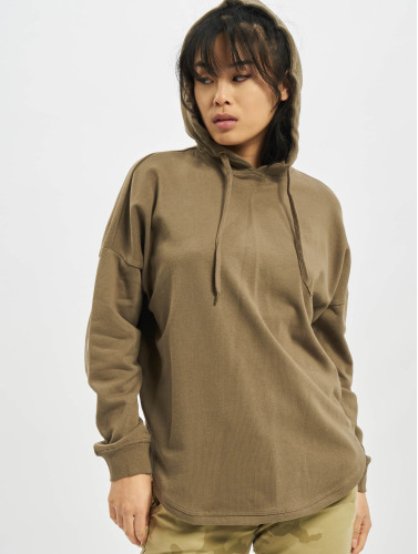 Urban Classics Damen Hoody Oversized Terry in khaki