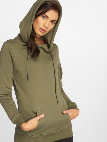 Urban Classics Damen Hoody Bomber in olive