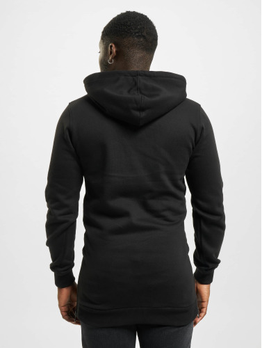 Urban Classics Herren Hoody Long Side in schwarz