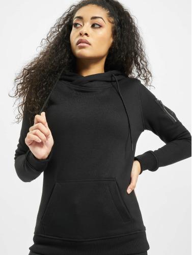 Urban Classics Damen Hoody Bomber in schwarz