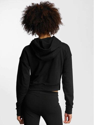 Urban Classics Damen Hoody Ladies Slub Terry in schwarz