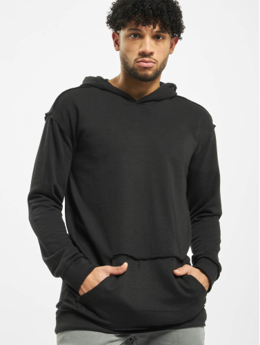 Urban Classics Herren Hoody Oversized Open Edge in schwarz