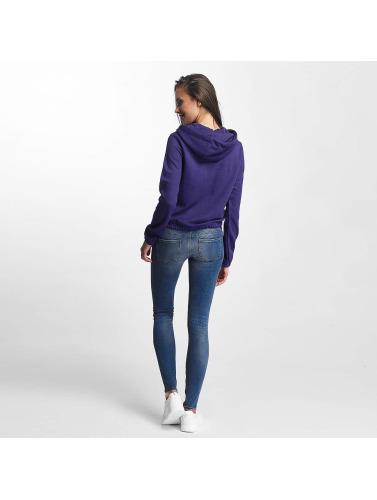 Urban Classics Damen Hoody Interlock Short in violet