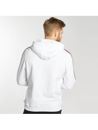 Urban Classics Herren Hoody Stripe in weiß