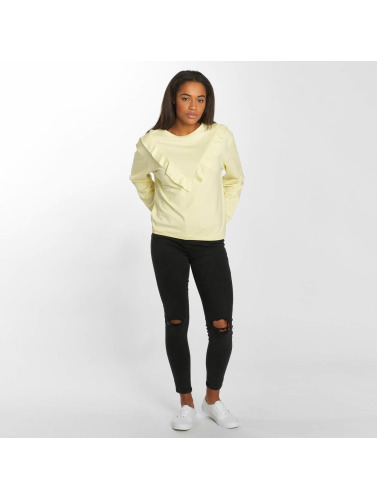Urban Classics Mujeres Jersey Terry in amarillo