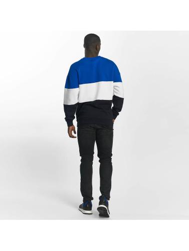Urban Classics Hombres Jersey 3 Tone in azul