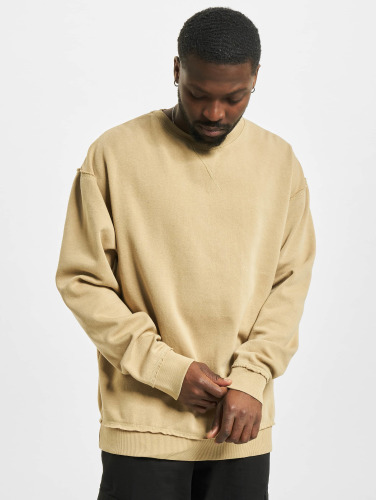 Urban Classics Hombres Jersey Oversized Open Edge in beis