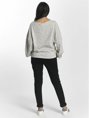 Urban Classics Mujeres Jersey Oversize Stripe in gris