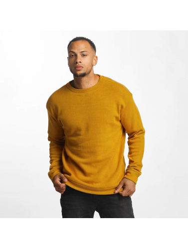 Urban Classics Hombres Jersey Texture in marrón
