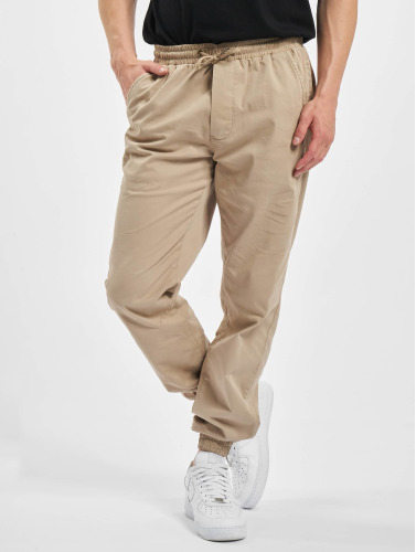 Urban Classics Herren Jogginghose Stretch Twill in beige