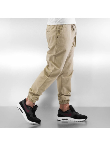 Urban Classics Herren Jogginghose Washed Canvas in beige