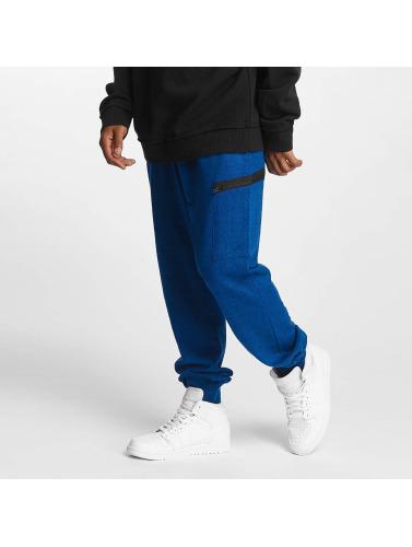 Urban Classics Herren Jogginghose Active Melange in blau