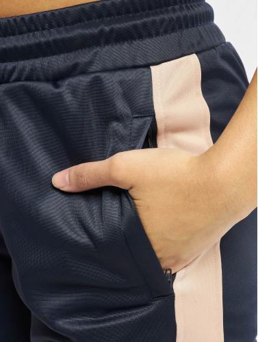 Urban Classics Damen Jogginghose Cuff in blau