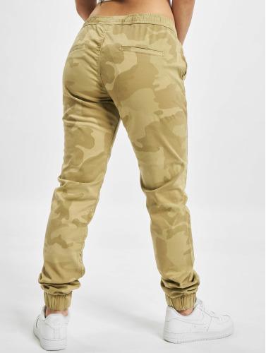 Urban Classics Damen Jogginghose Camo in camouflage