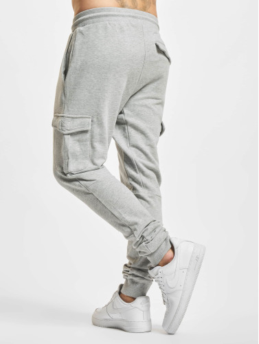 Urban Classics Herren Jogginghose Fitted Cargo in grau