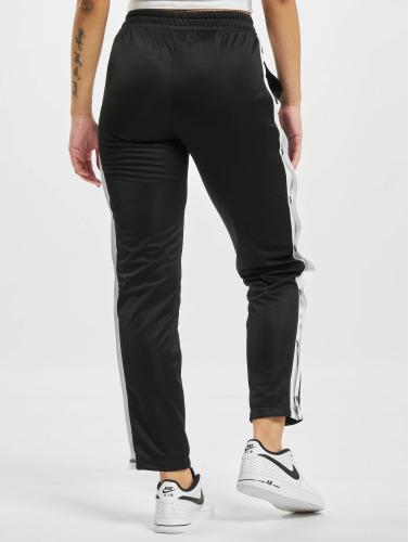 Urban Classics Damen Jogginghose Button Up in schwarz