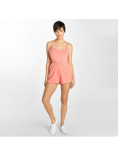 Urban Classics Damen Jumpsuit Natalia Ladies Spaghetti Short In Orange