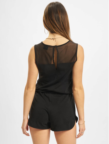 Urban Classics Damen Jumpsuit Tech Hot in schwarz