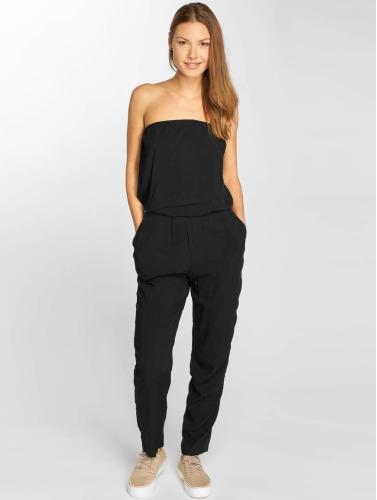 Urban Classics Damen Jumpsuit Viscose Bandeau in schwarz