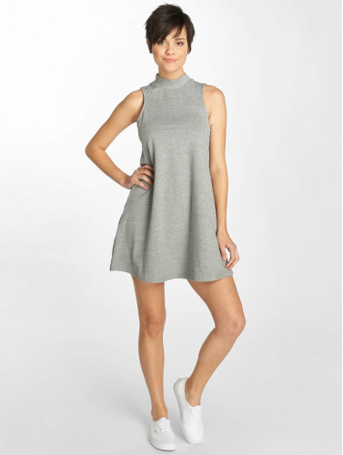 Urban Classics Damen Kleid A-Line in grau