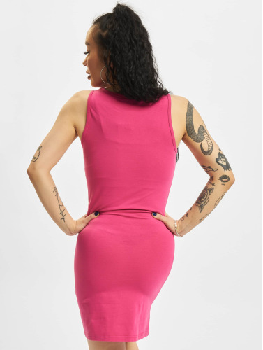 Urban Classics Damen Kleid Sleeveless In Pink