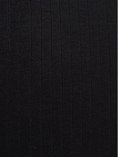Urban Classics Damen Kleid Long Turtleneck in schwarz