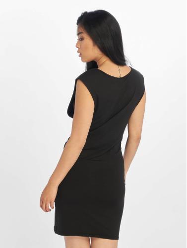 Urban Classics Damen Kleid Deep Armhole in schwarz