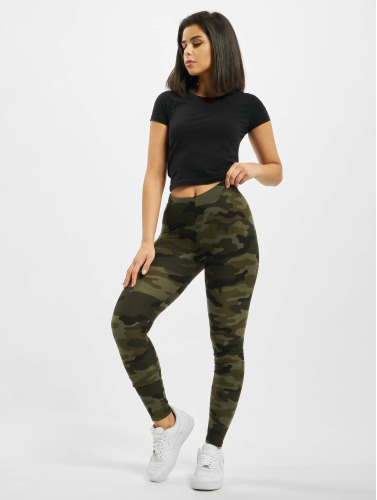 Urban Classics Damen Legging Camo in camouflage