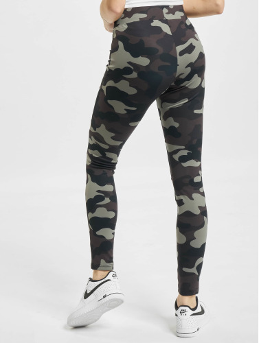 Urban Classics Damen Legging Camo Tech Mesh in camouflage