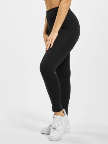 Urban Classics Damen Legging Jersey in schwarz