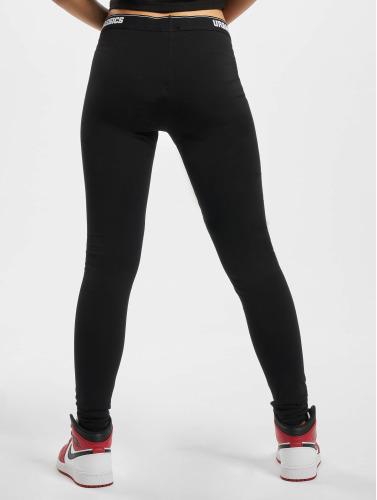Urban Classics Damen Legging Logo in schwarz