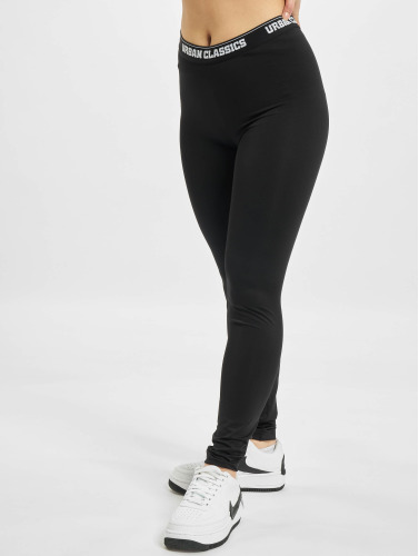 Urban Classics Damen Legging Sports in schwarz