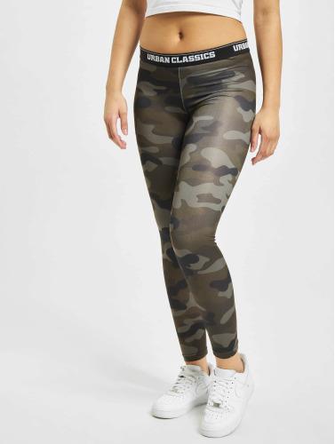 Urban Classics Mujeres Legging/Tregging Camo Logo in camuflaje