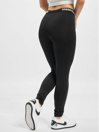 Urban Classics Mujeres Legging/Tregging Sports in negro