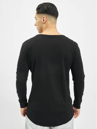 Urban Classics Herren Longsleeve Long Shaped Fashion in schwarz