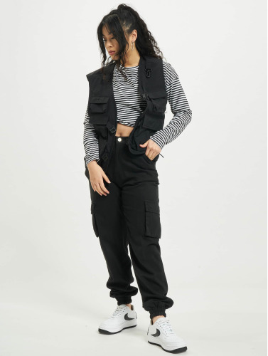 Urban Classics Damen Longsleeve Oversize in weiß