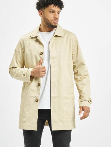 Urban Classics Herren Mantel Gabardine in beige