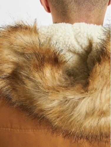 Freies Verschiffen Empfehlen Urban Classics Herren Mantel Heavy Cotton Imitation Fur in braun Freiheit Genießen Freies Verschiffen Zahlung Mit Visa Marktfähig Zu Verkaufen Billig Online-Shop Manchester ietYPboXv
