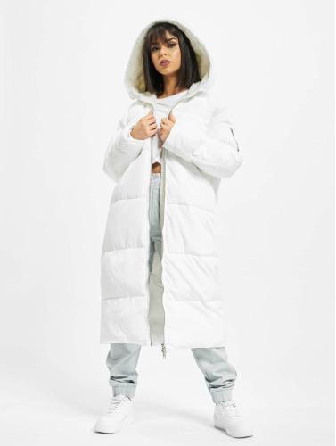 Urban Classics Damen Mantel Oversized Hooded Puffer in weiß