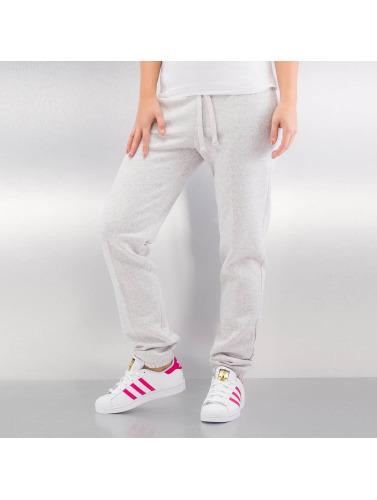 Urban Classics Mujeres Pantalón deportivo Melange in gris