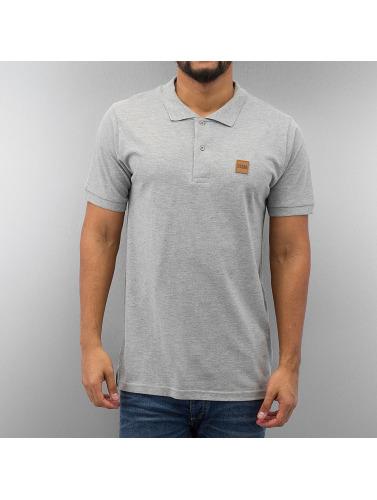 Urban Classics Herren Poloshirt Heavy Pique in grau