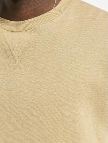 Urban Classics Herren Pullover Oversized Open Edge in beige