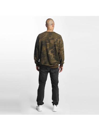 Urban Classics Herren Pullover Camo in camouflage