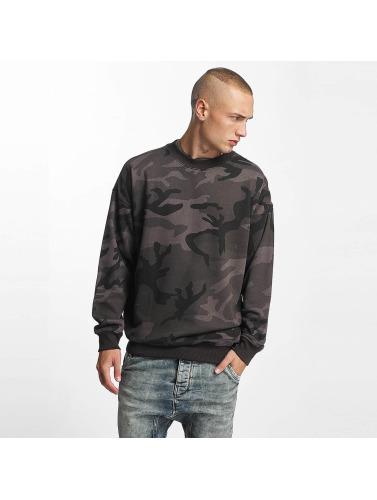 Urban Classics Herren Pullover Camo Sweatshirt in camouflage