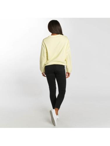 Wie Viel Zu Verkaufen Urban Classics Damen Pullover Terry in gelb Fabrikverkauf Günstiger Preis RwyxiDzZ