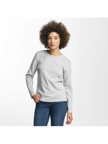 Urban Classics Damen Pullover Athletic Interlock in grau
