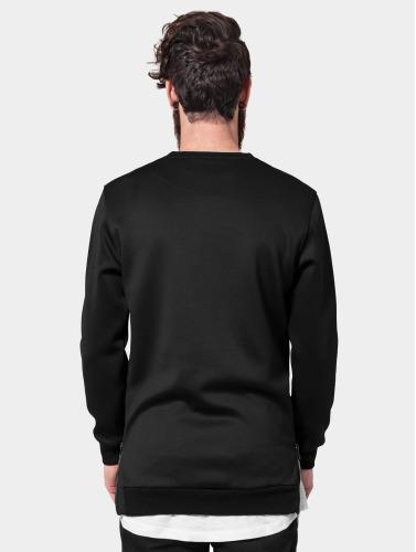 Urban Classics Herren Pullover Side-Zip Neopren in schwarz