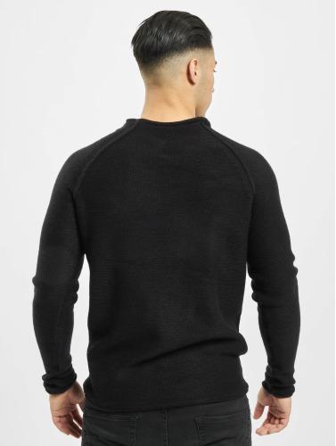 Urban Classics Herren Pullover Raglan Wideneck in schwarz
