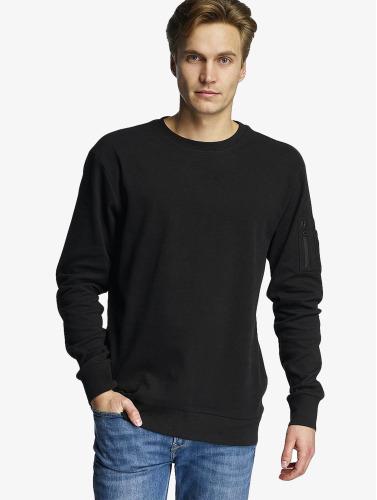 Urban Classics Herren Pullover Interlock Bomber in schwarz