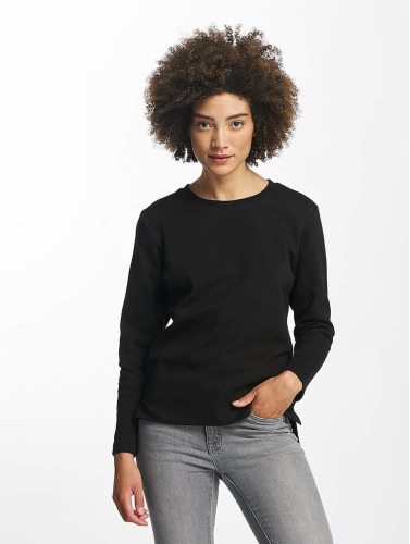 Urban Classics Damen Pullover Athletic Interlock in schwarz